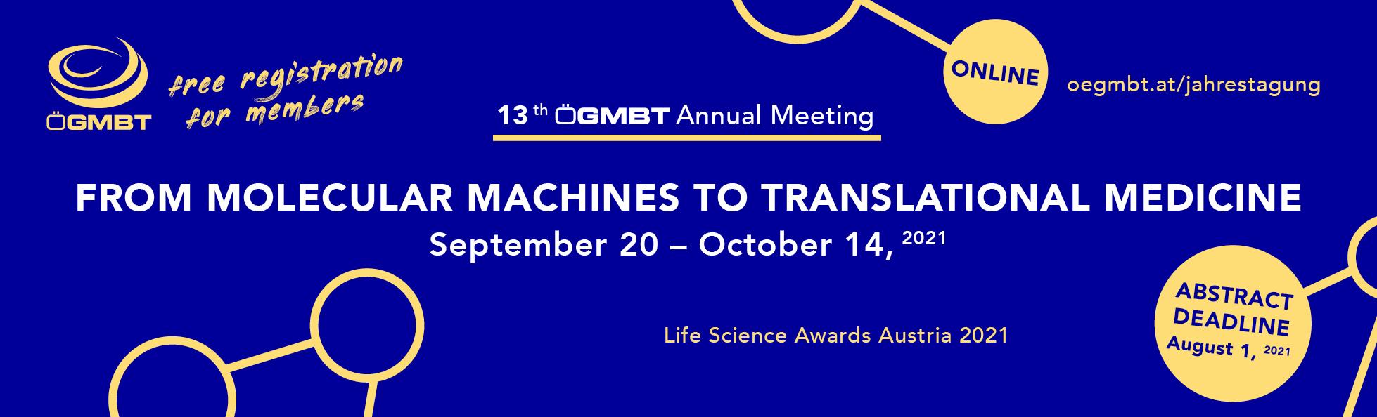 ÖGMBT Annual meeting Banner