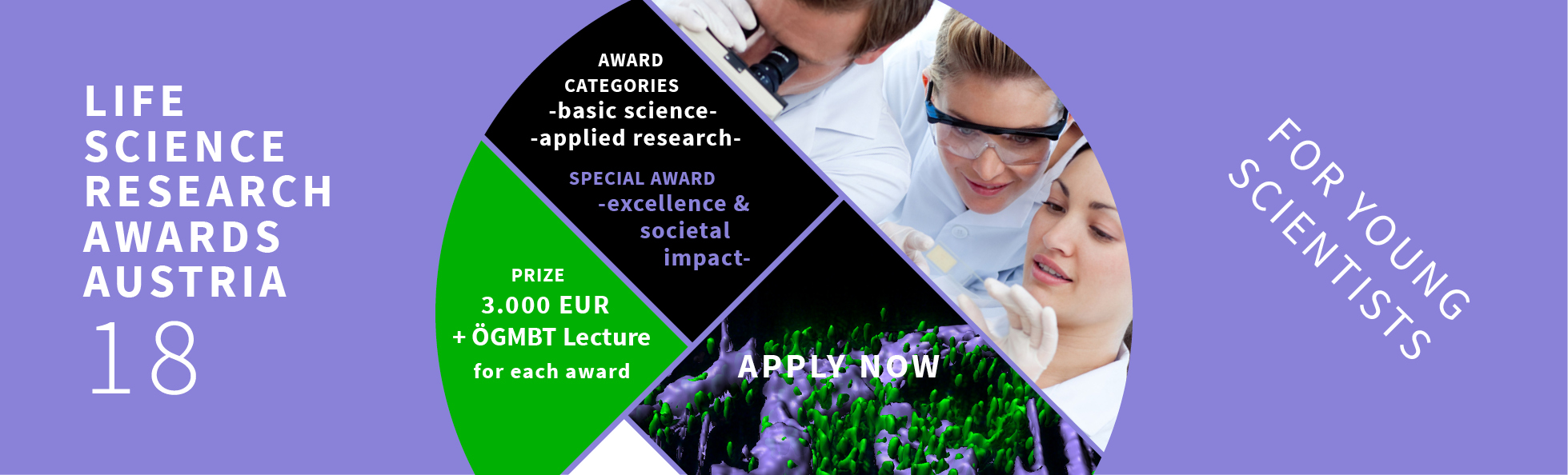 Life Science Research Award Austria 2018